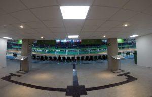 Parque Olímpico - Piso tátil da Arena Parque Olímpico
